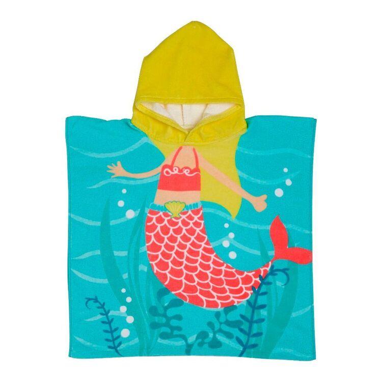 KOO Kids Mermaid Hooded Beach Towel