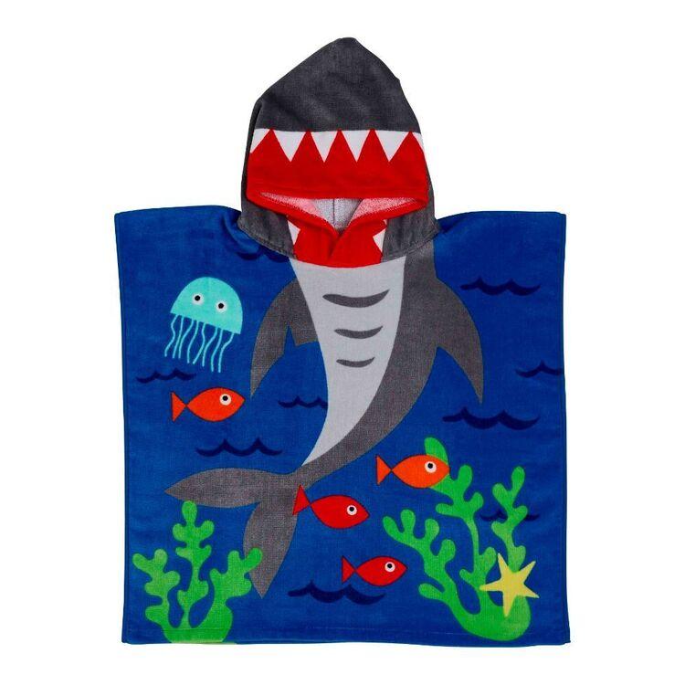 KOO Kids Shark Hooded Beach Towel
