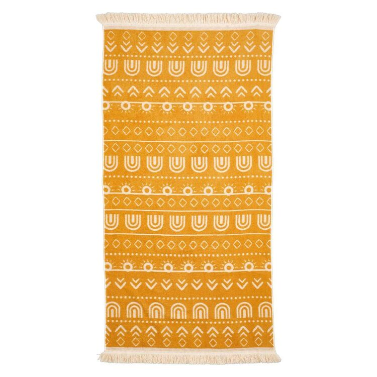 KOO Elite Australian Cotton Sun Geo Beach Towel