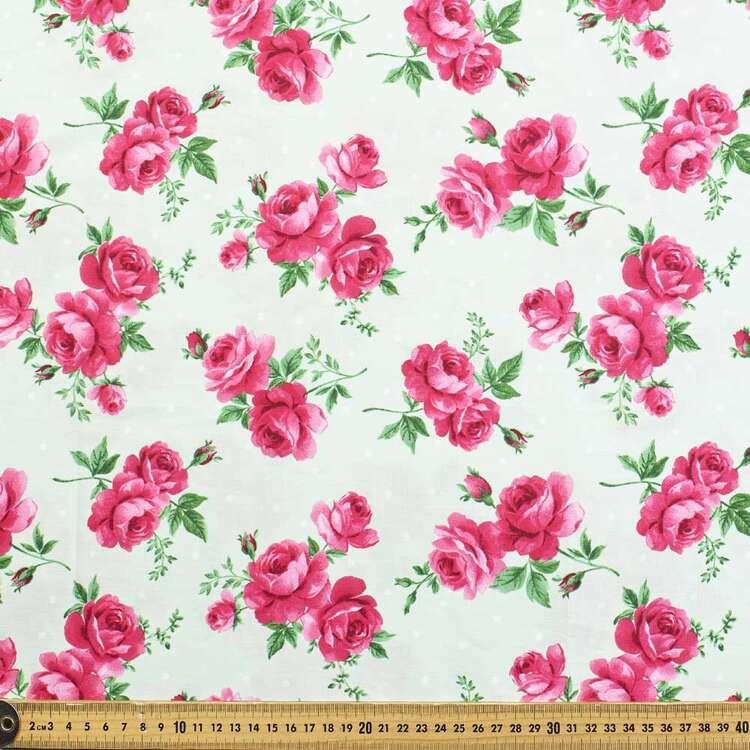 Gertie Posy Printed 148 cm Stretch Poplin Fabric