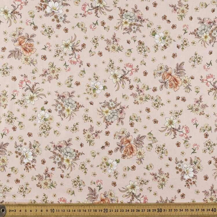 Natures Habitat Digital Printed 142 cm Combed Cotton Sateen Fabric