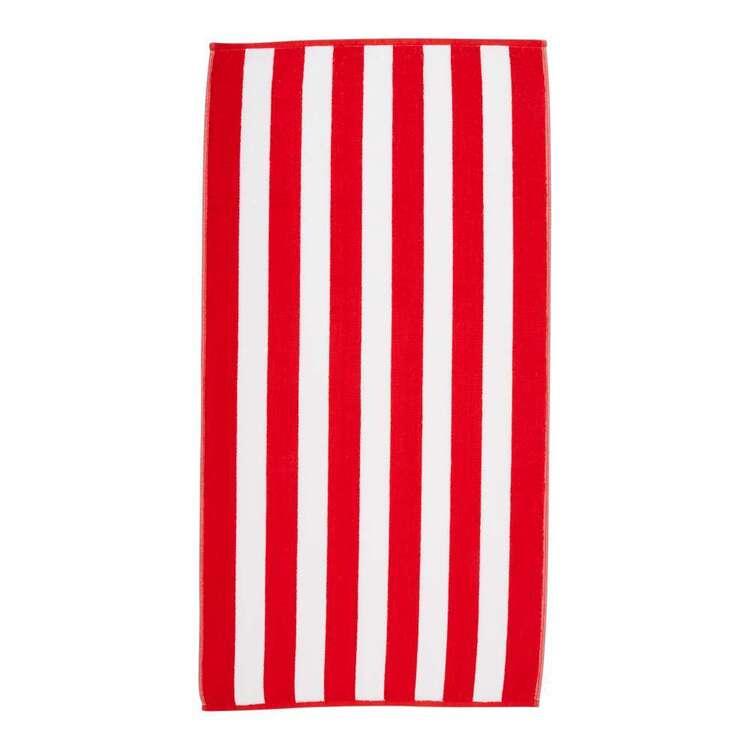 Emerald Hill Stripe Beach Towel