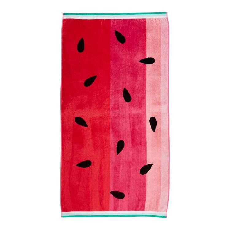 Brampton House Watermelon Beach Towel