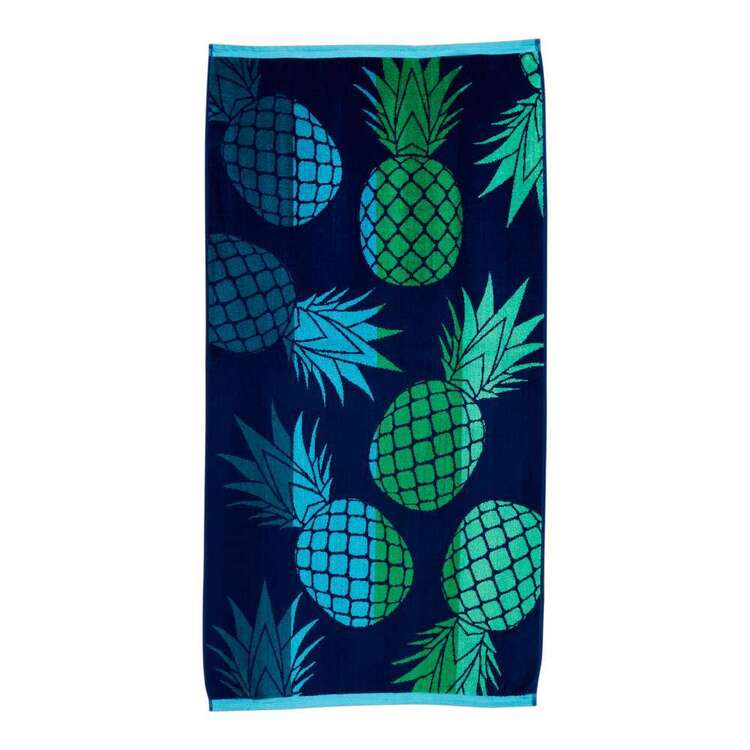 Brampton House Pineapple Beach Towel