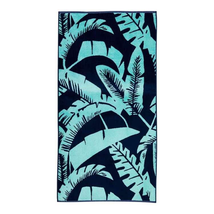 KOO Leaves Beach Towel