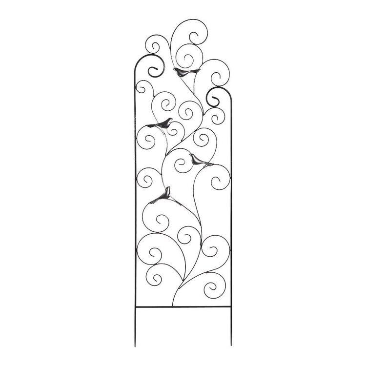 Living Space Bird Design Garden Trellis
