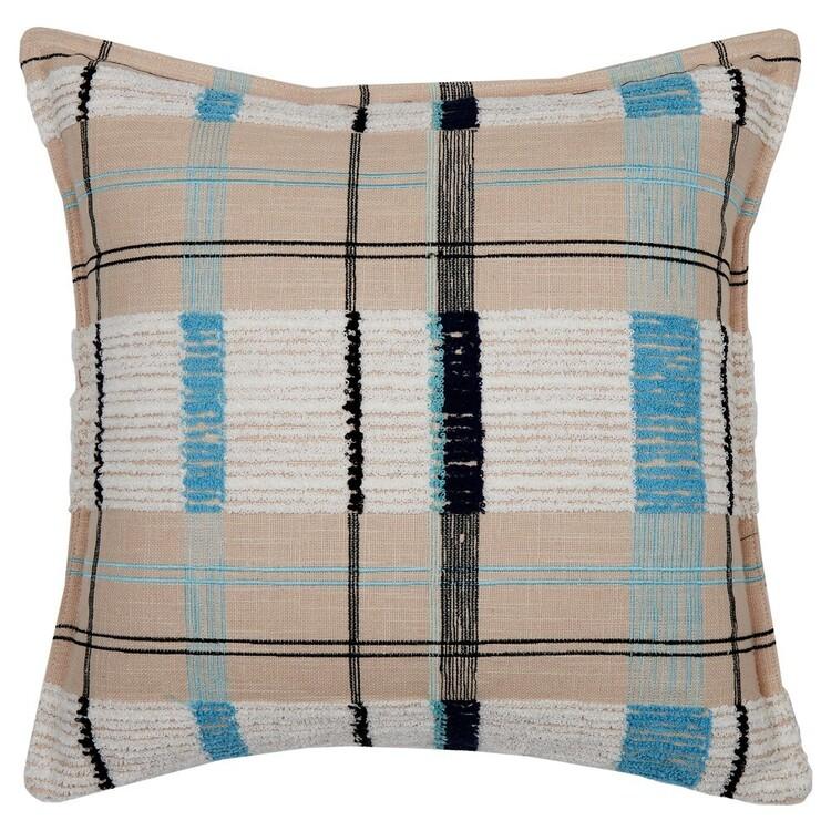 Logan & Mason Home Brooklyn Check Cushion
