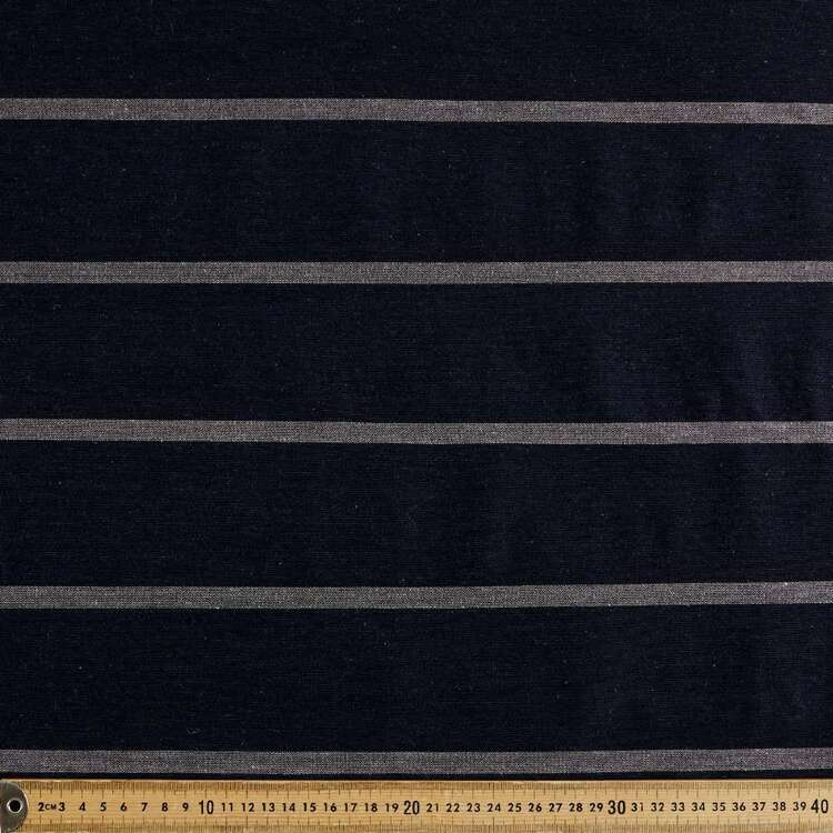 Wide Stripe Printed 145 cm Summer Suiting Fabric