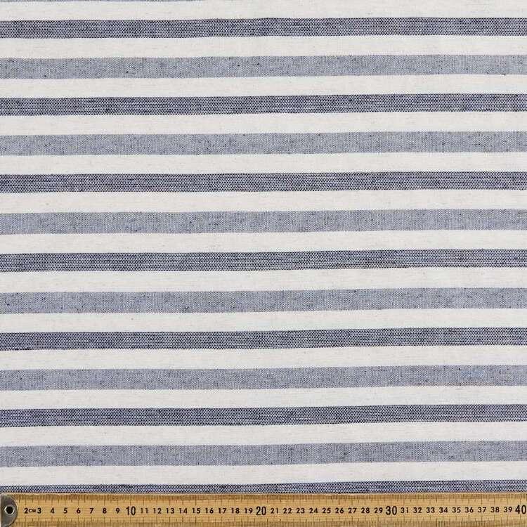 Alternating Stripe Printed 145 cm Summer Suiting Fabric