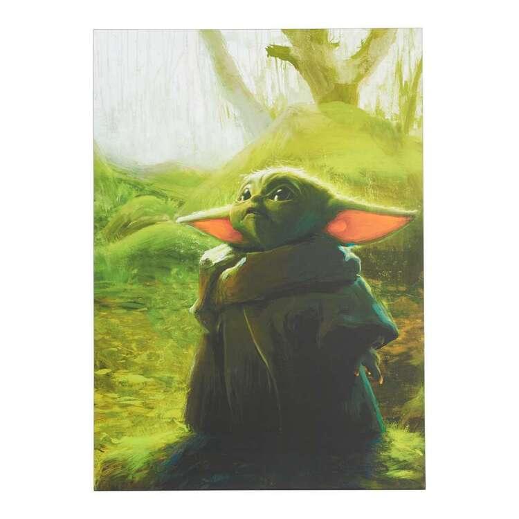 Impact Posters Star Wars Baby Yoda Canvas Print
