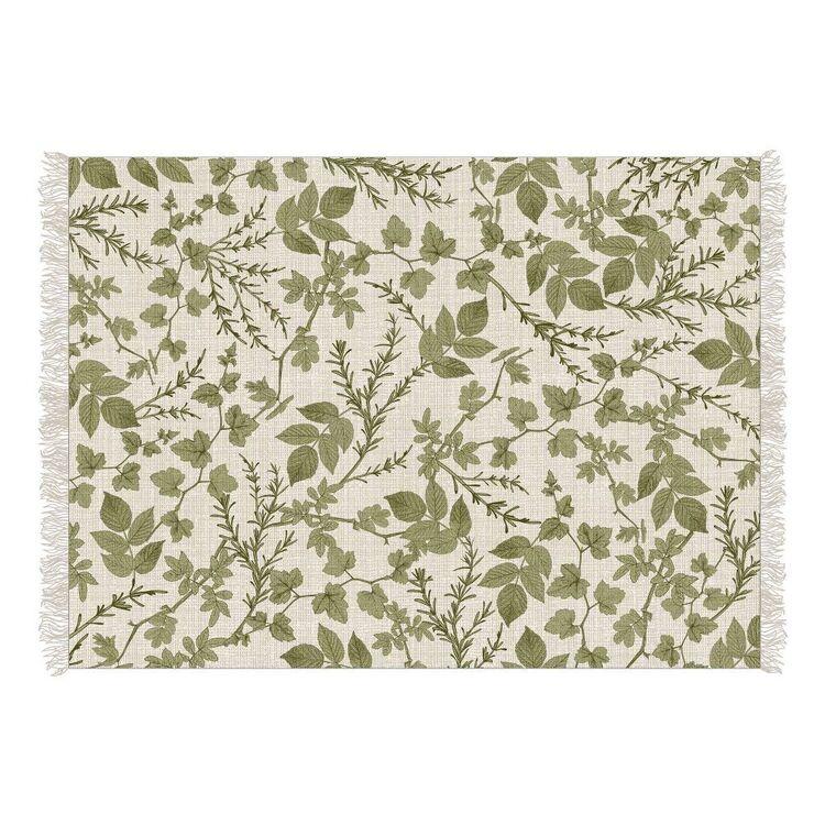Ombre Home Golden Hour Botanical Cotton Rug