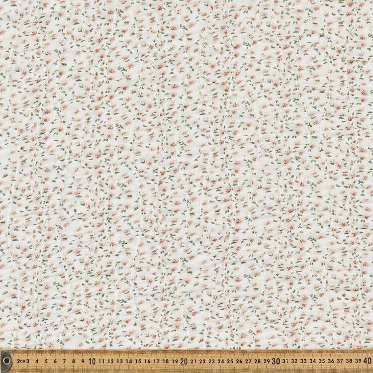 Floral #2 Printed 132 cm Shirred Yoryu Chiffon Fabric