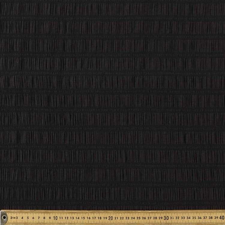 Plain 132 cm Shirred Crinkle Fabric