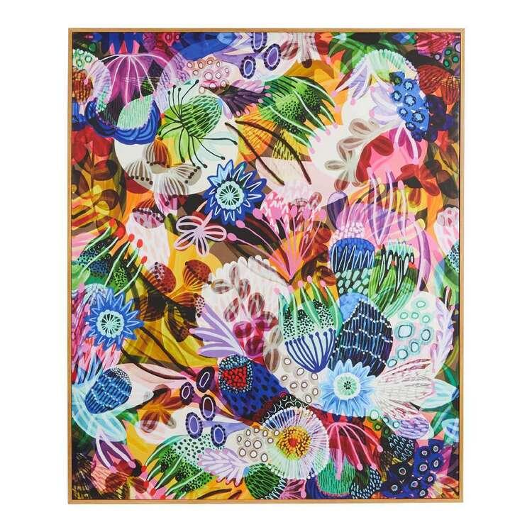 Kirsten Katz 100 x 120 cm Eden Garden Framed Canvas Print