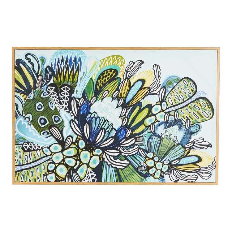 Kirsten Katz 90 x 60 cm Eden Garden Framed Canvas Print