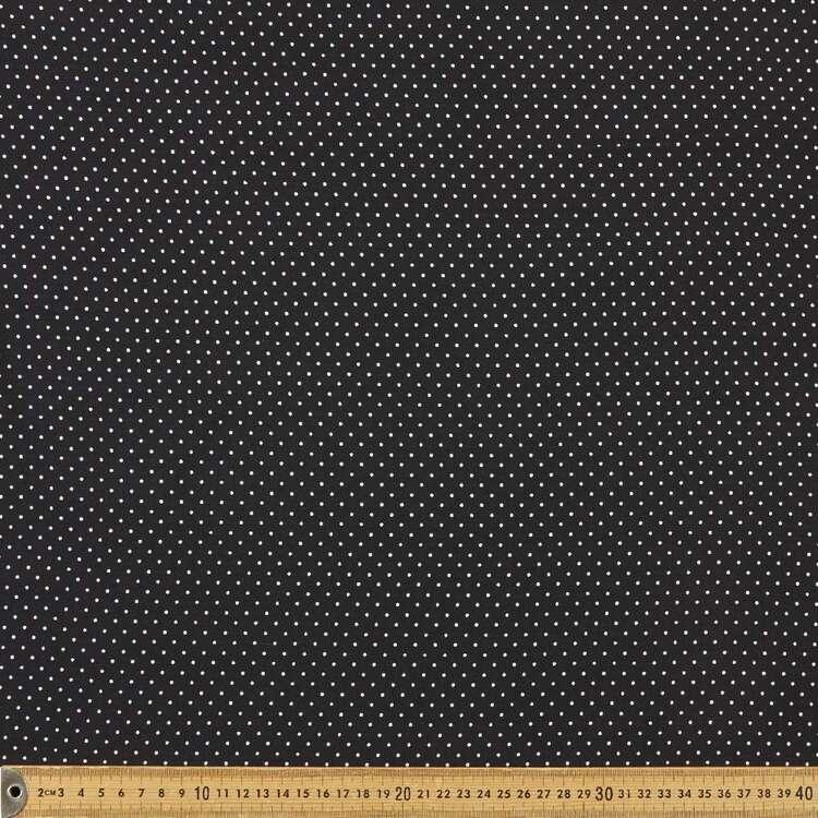 Spot Printed 145 cm Oriental Slub Crepe Fabric