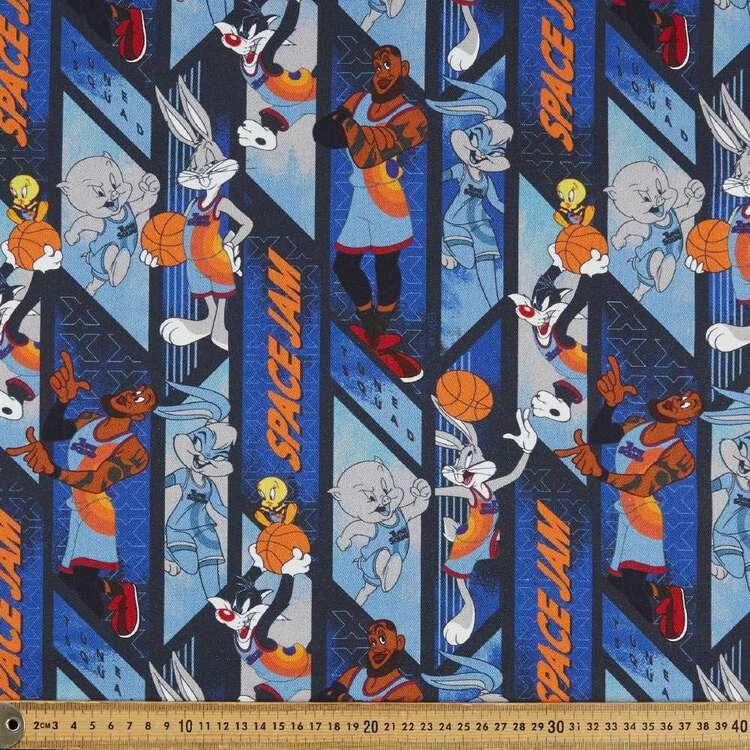 Space Jam Lebron 150 cm Cotton Canvas Fabric