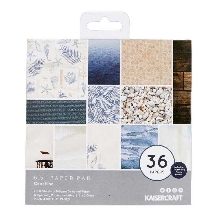 Kaisercraft 6.5 x 6.5 in Coastline Paper Pad