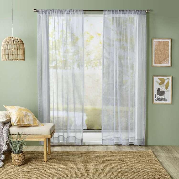 KOO Nature Sheer Rod Pocket Curtains