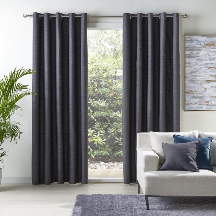 KOO Luna Blockout Eyelet Curtains