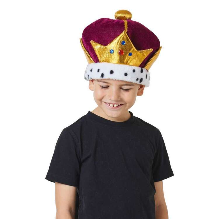 Spartys Plush Crown Hat