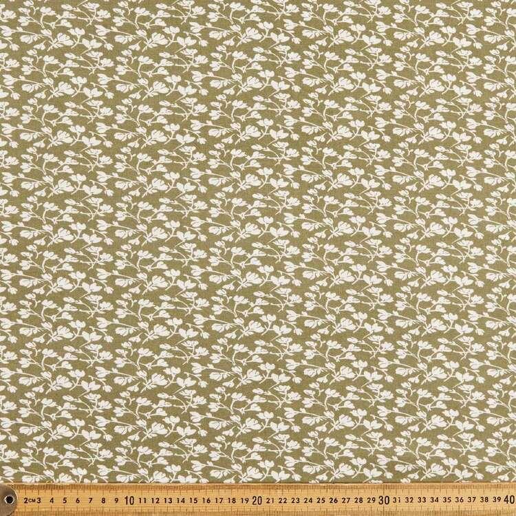 Stems Printed 135 cm Rayon Fabric