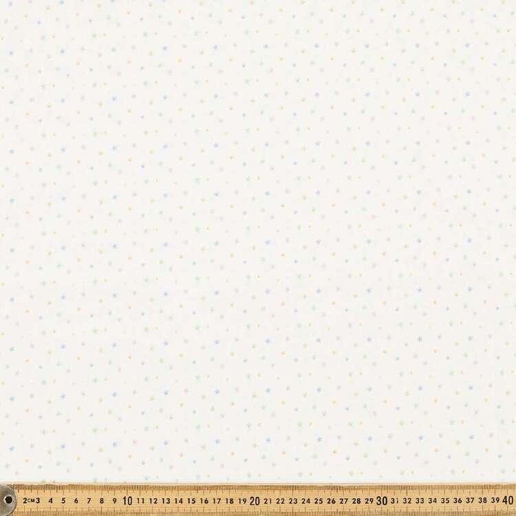 Flowers Printed 112 cm Organic Cotton Blender Fabric