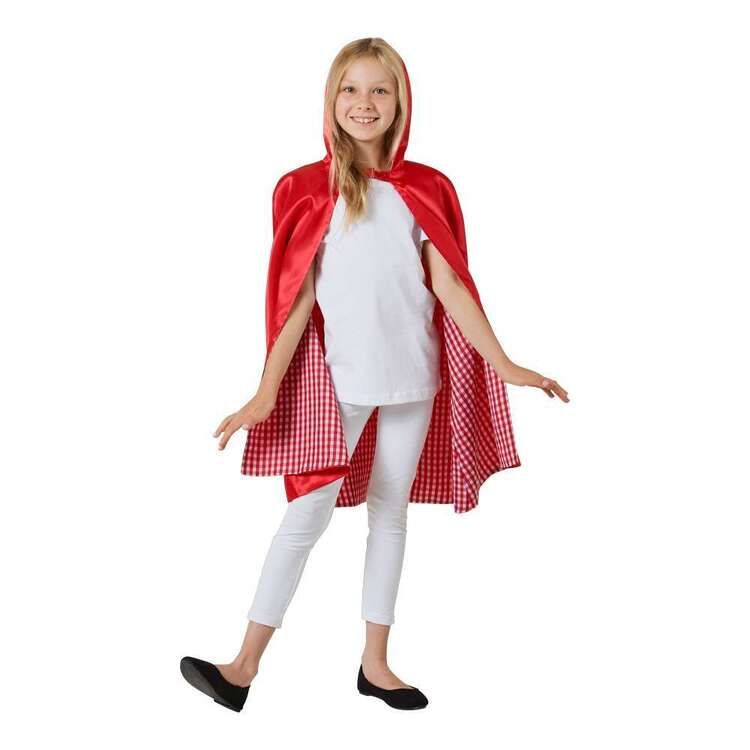 Spartys Kids Red Hooded Cape