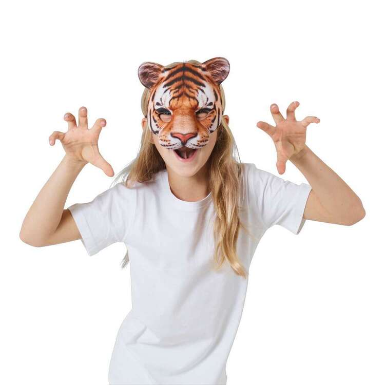 Spartys Kids Tiger Mask