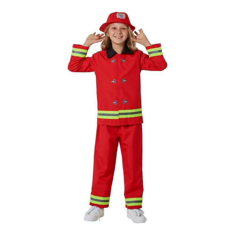Spartys Kids Firefighter Costume