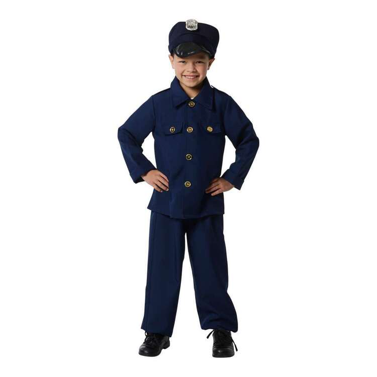 Spartys Kids Police Costume