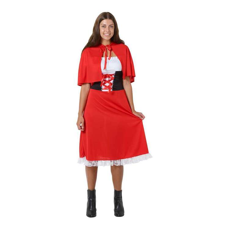 Spartys Adult Red Riding Dress