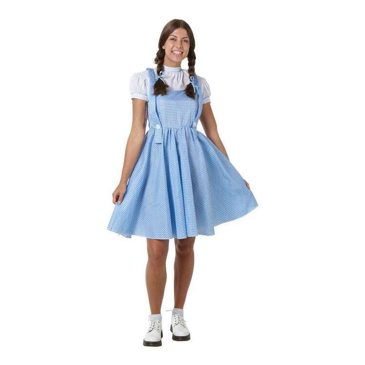 Spartys Adult Gingham Dress