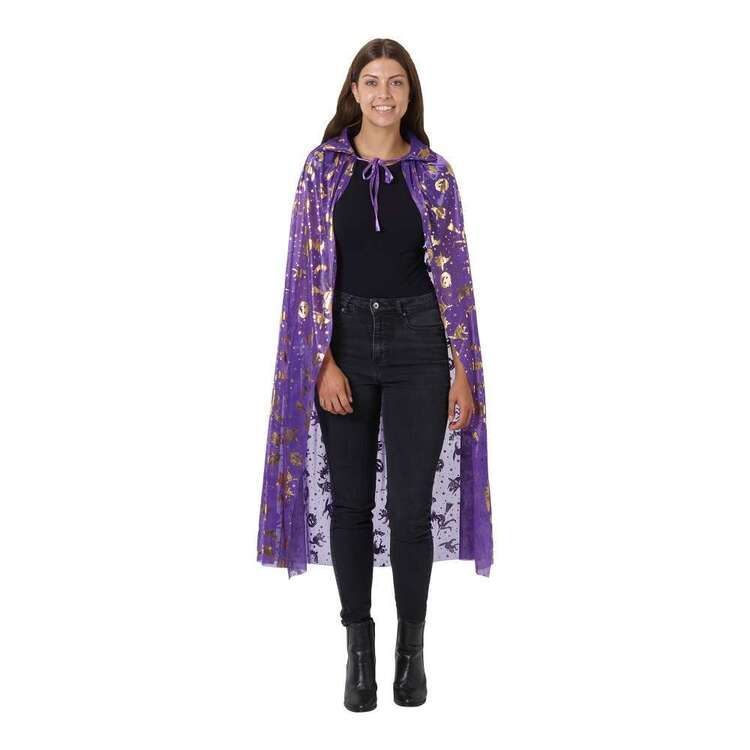 Spooky Hollow Adult Printed Cape