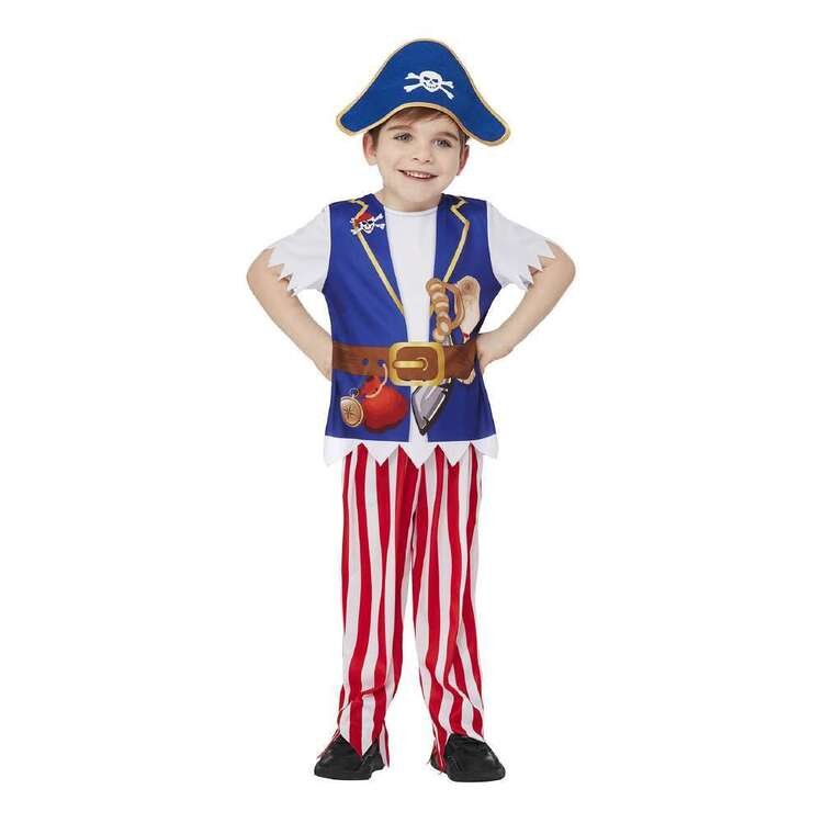 Spartys Deluxe Storybook Pirate Kids Costume