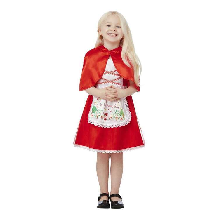 Spartys Deluxe Red Riding Hood Kids Costume