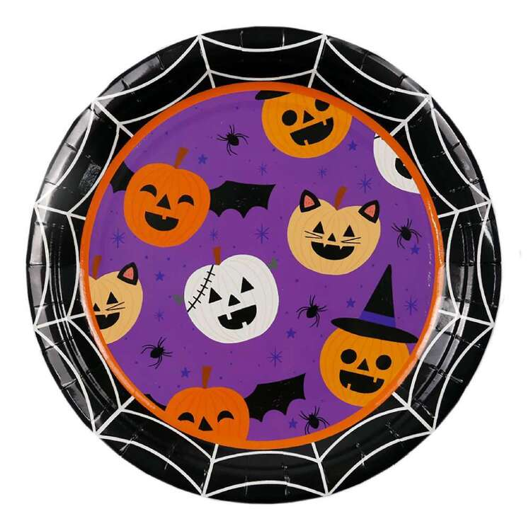 Spooky Hollow Trick or Treat Paper Plate 8 Pack