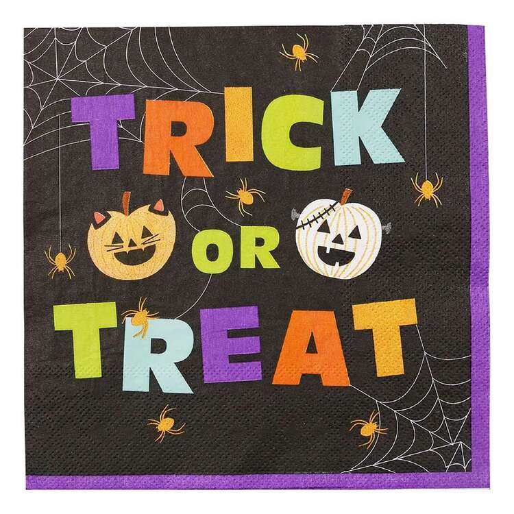 Spooky Hollow Trick or Treat Paper Napkins 16 Pack