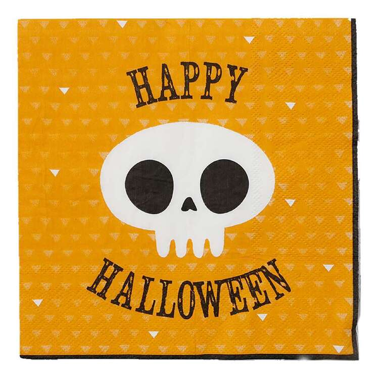 Spooky Hollow Happy Halloween Paper Napkins 16 Pack