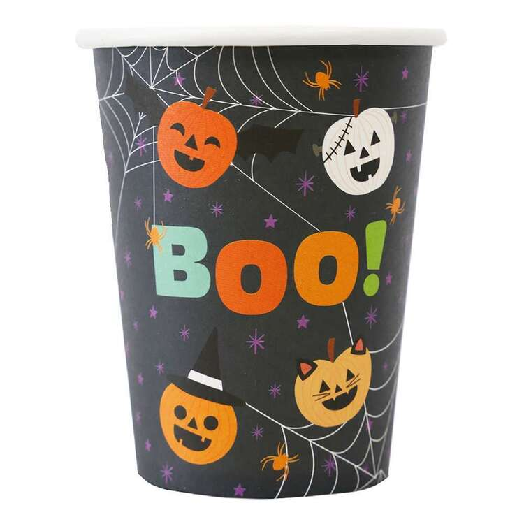 Spooky Hollow Trick or Treat Paper Cup 8 Pack