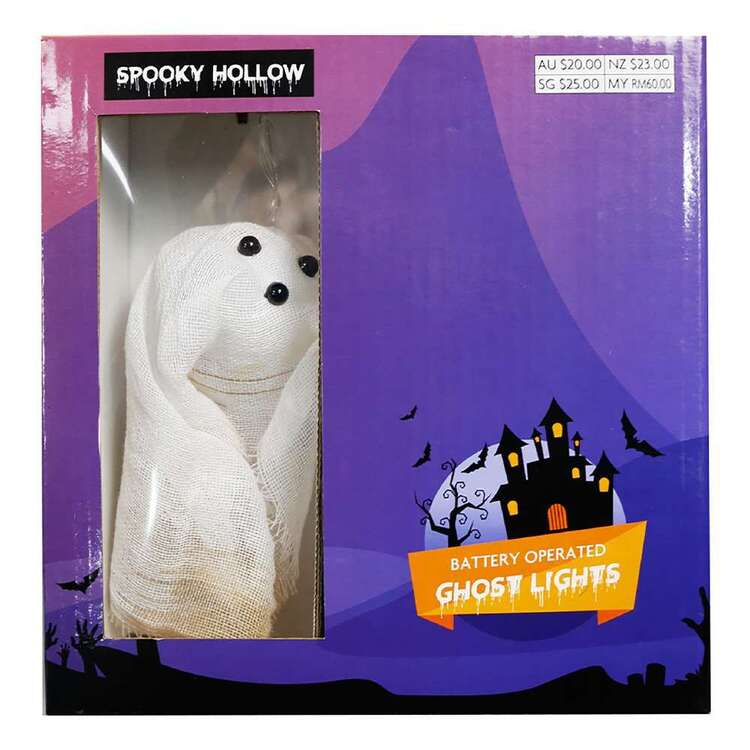 Spooky Hollow Ghost String Lights