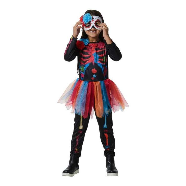 Spooky Hollow Kids Rainbow Skeleton Costume