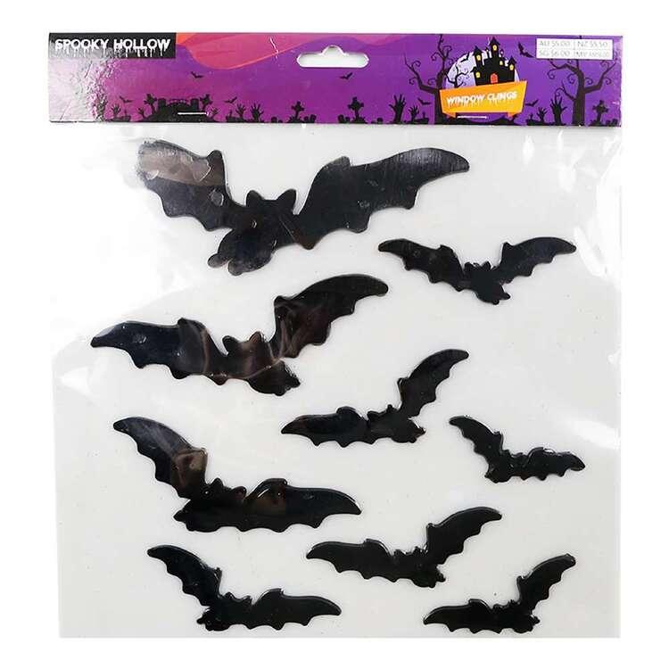 Spooky Hollow Bats Window Clings