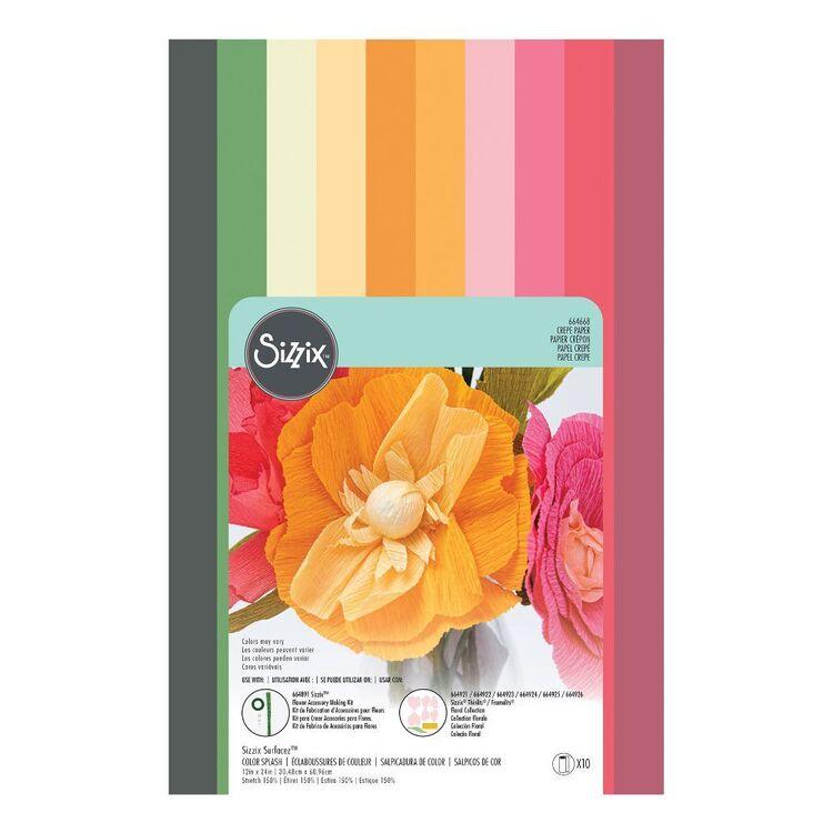 Sizzix Surfacez Colour Splash 12 x 24 in Crepe Paper