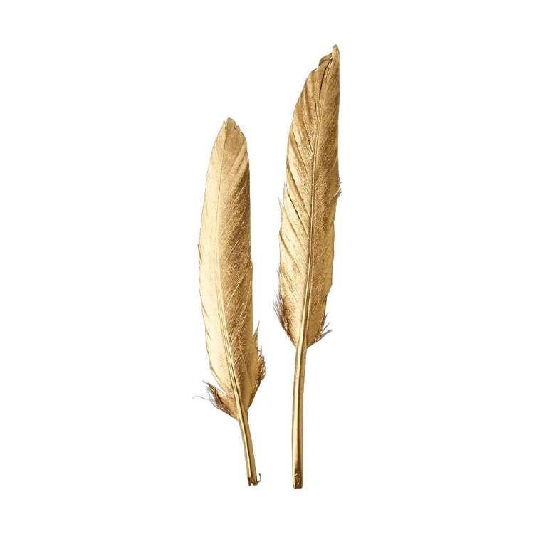 Maria George Metallic Feather 2 Pack