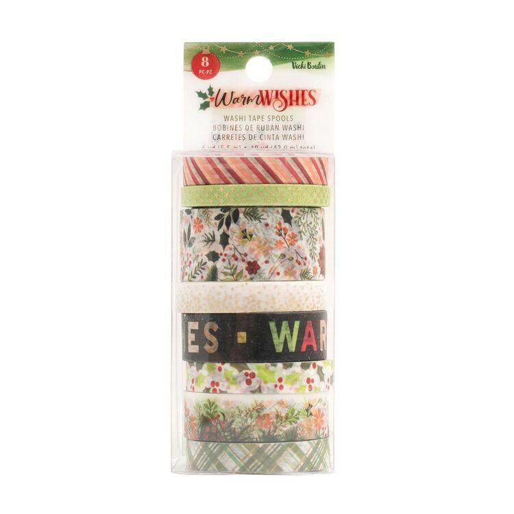 American Crafts Vicki Boutin Washi Tape 8 Pack