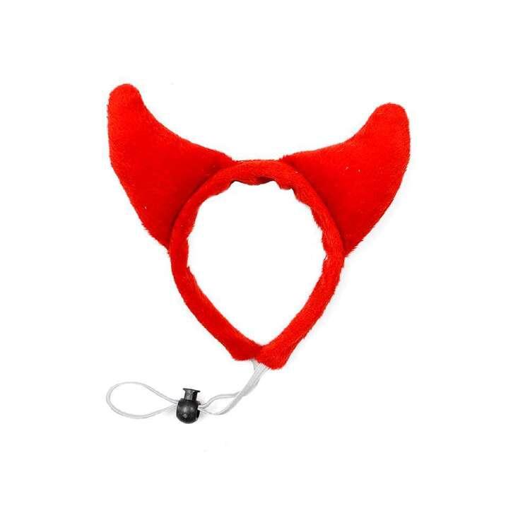 Spooky Hollow Devil Headband For Pets