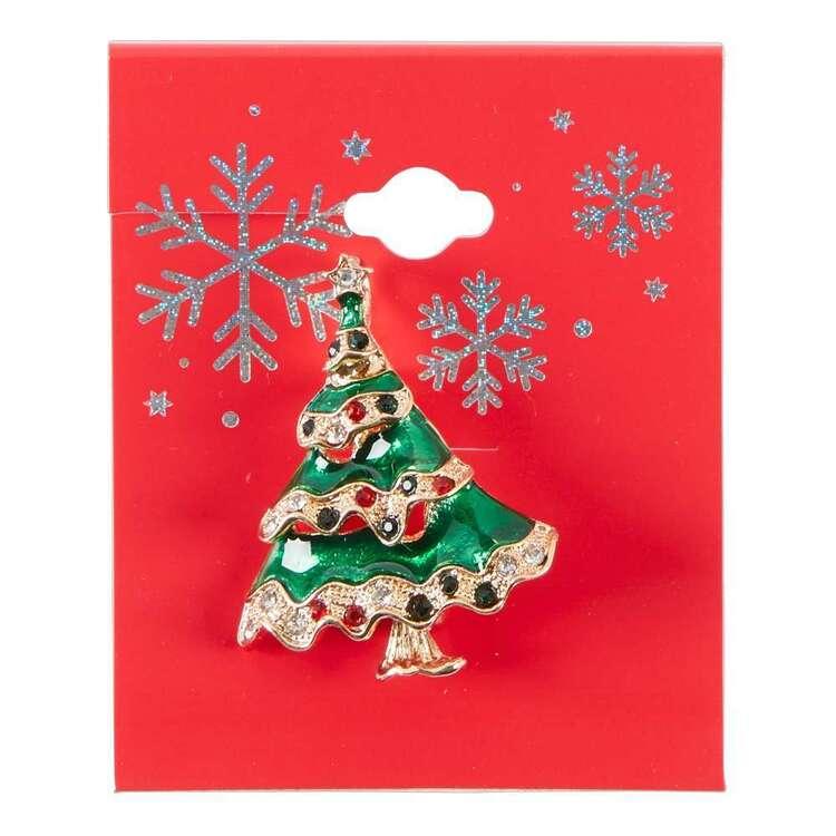 Maria George Christmas Tree Brooch
