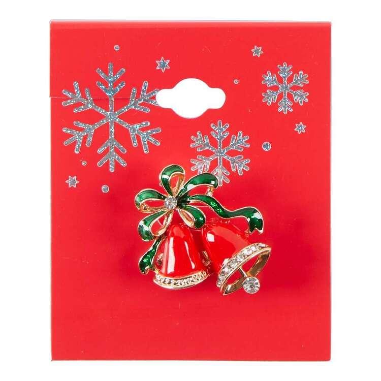 Maria George Christmas Bells Brooch