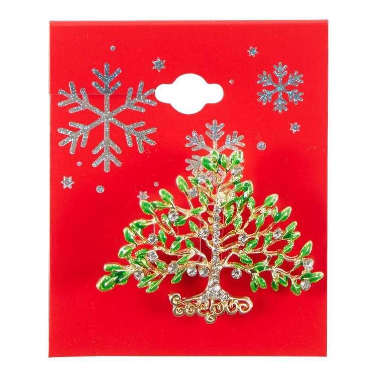 Maria George Tree Of Life Christmas Brooch